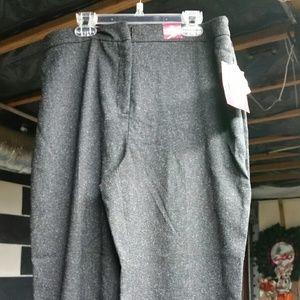 Pants - 212 kohl's collection  gray slacks